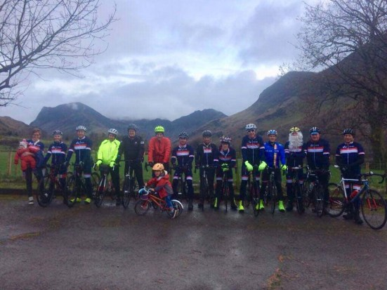 DVCC Christmas party ride