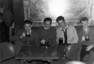 Early 1960's Locker Room pub