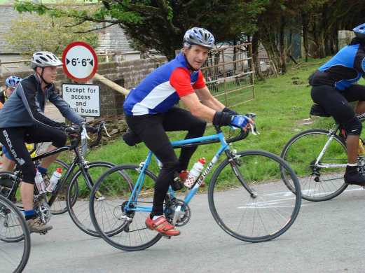 Fred Whitton Challenge going up Fangs Brow