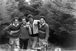 Whinlatter Pass with Brian Lancaster, Derek Harrison, Ivan Morris and George Surtees