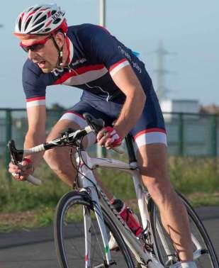 Phil Wake in action at Carlisle