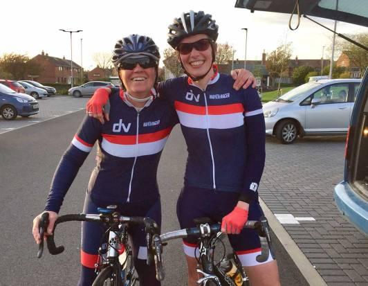 Helene and Femke